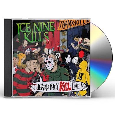 ICE NINE KILLS I Heard They KILL Live CD