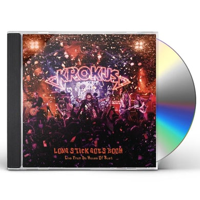 Krokus LONG STICK GOES BOOM (LIVE FROM THE HOUSE OF RUST) CD
