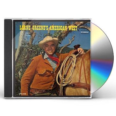 LORNE GREENE'S AMERICAN WEST CD