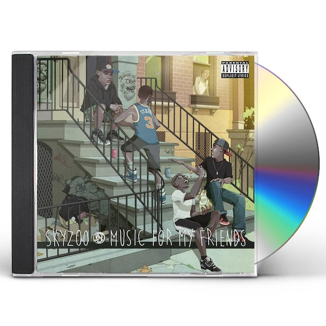 Skyzoo MUSIC FOR MY FRIENDS CD