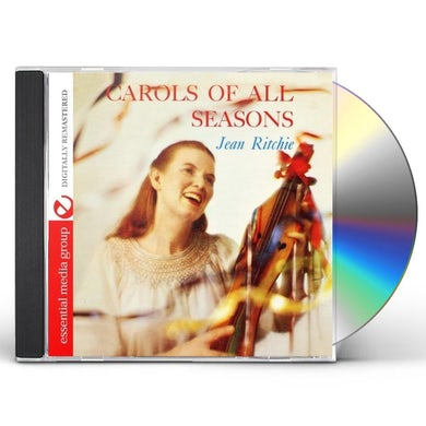 Jean Ritchie CAROLS OF ALL SEASONS CD