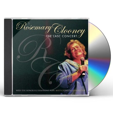 Rosemary Clooney LAST CONCERT CD