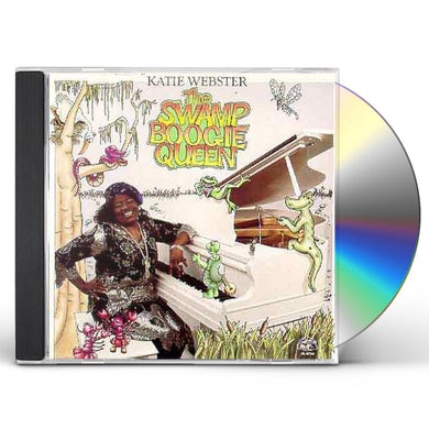 Katie Webster SWAMP BOOGIE QUEEN CD