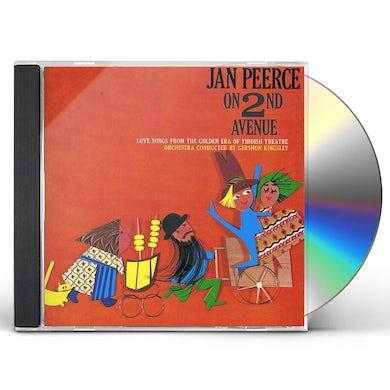 Jan Peerce ON 2ND AVENUE: LOVE CD