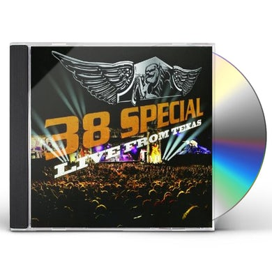 38 Special LIVE FROM TEXAS CD