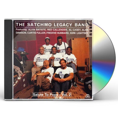 SATCHMO LEGACY BAND VOL. 2-SALUTE TO POPS CD