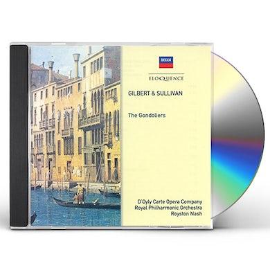 D'Oyly Carte Opera Company GILBERT & SULLIVAN: GONDOLIERS CD