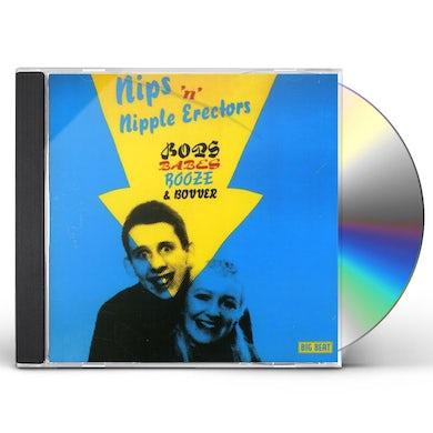Nips N Nipple Erectors BOPS BABES BOOZE & BOVVER CD