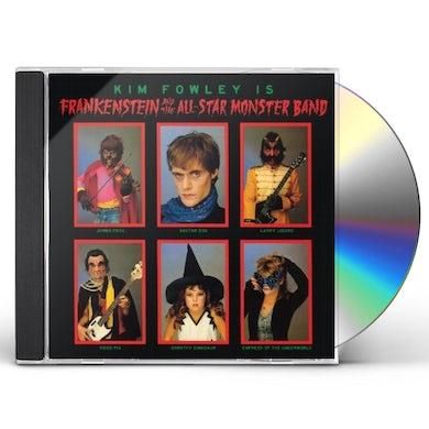 Kim Fowley FRANKENSTEIN & THE ALL STAR MONSTER BAND CD