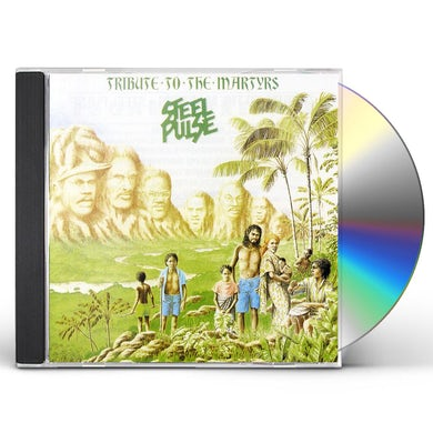 Steel Pulse TRIBUTE TO THE MARTYRS CD