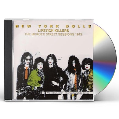 New York Dolls LIPSTICK KILLERS CD