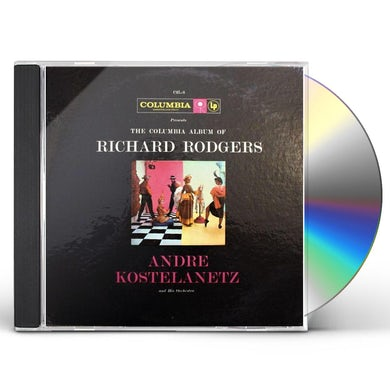 Andre Kostelanetz COLUMBIA ALBUM OF RICHARD ROGERS CD