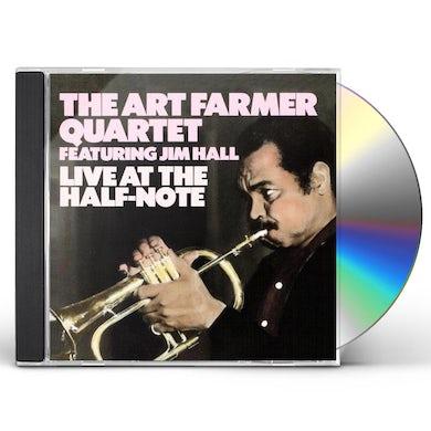 Art Farmer LIVE AT THE HALF NOTE CD