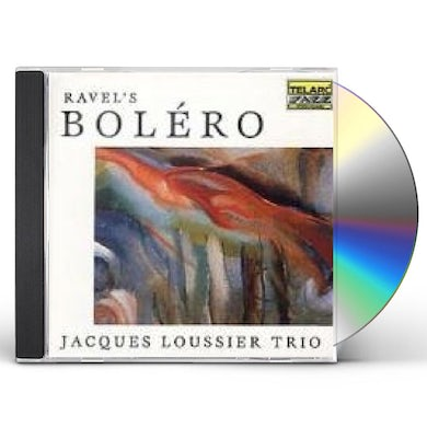Jacques Loussier RAVEL: BOLERO CD