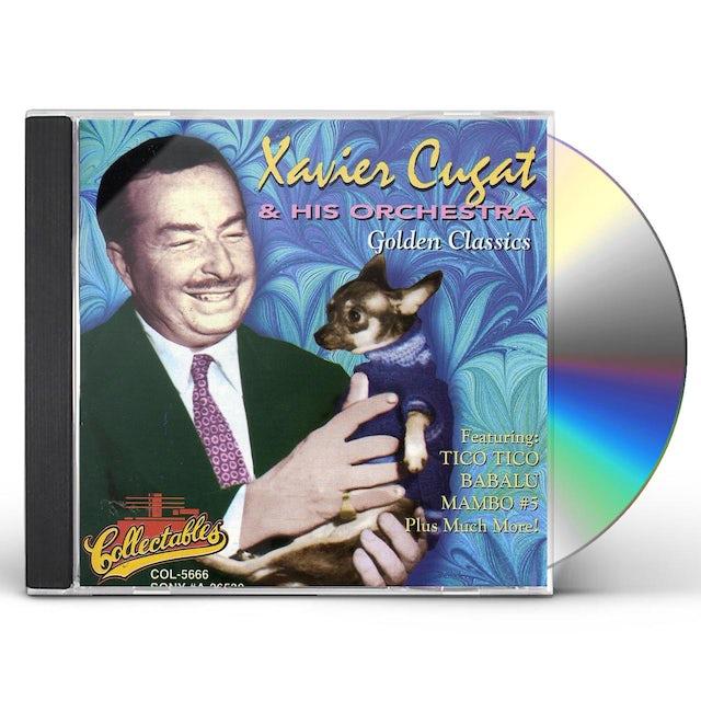 Xavier Cugat GOLDEN CLASSICS CD