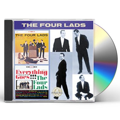 Four Lads SWING ALONG / EVERYTHING GOES CD