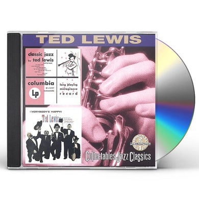 Ted Lewis CLASSIC JAZZ / EVERYBODY'S HAPPY CD