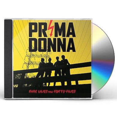 Prima Donna  NINE LIVES AND FORTY FIVES CD