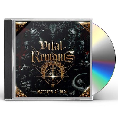 Vital Remains HORRORS OF HELL CD