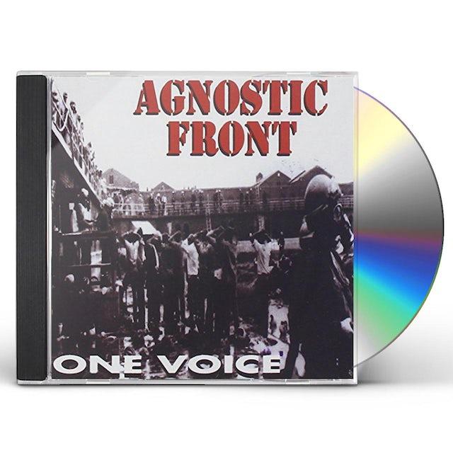 Agnostic Front ONE VOICE CD