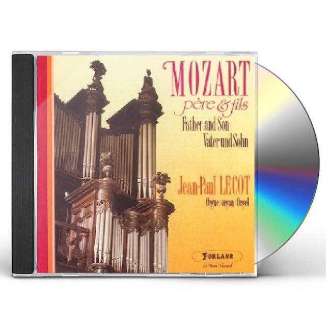 W.A. Mozart MOZART PERE ET FILS CD