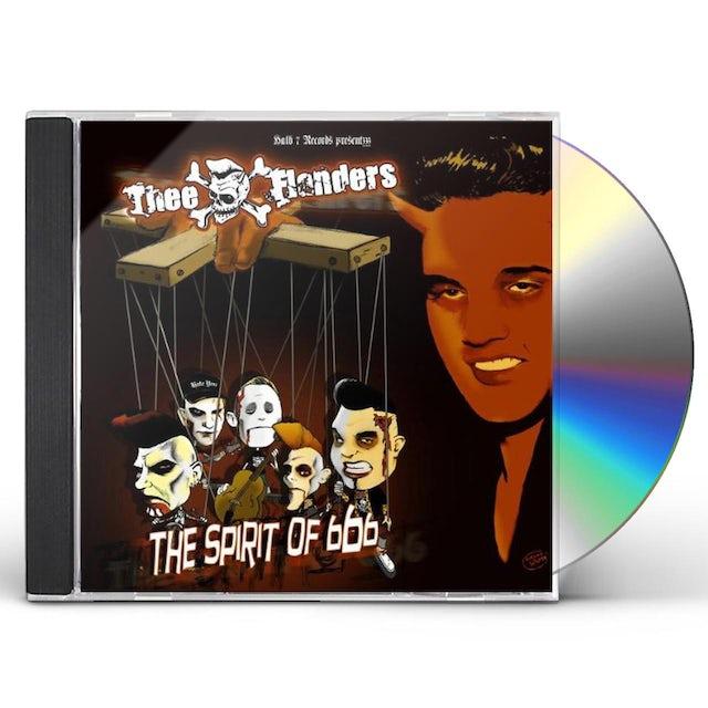 Thee Flanders SPIRIT OF 666 CD