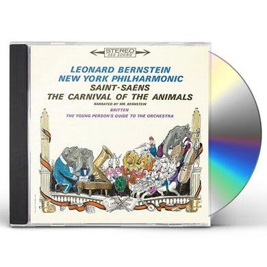 Leonard Bernstein PETER & THE WOLF / CARNIVAL OF CD