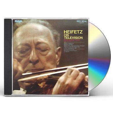 Jascha Heifetz HEIFETZ ON TELEVISION CD