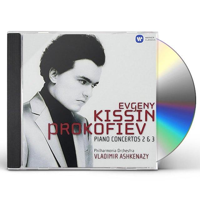 Evgeny Kissin PROKOFIEV: PIANO CONCERTOS 2 & 3 CD