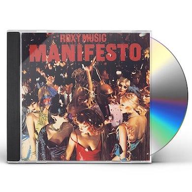 Roxy Music MANIFESTO CD
