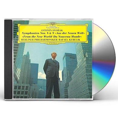 Rafael Kubelik DVORAK: SYMPHONIES 8 & 9 CD