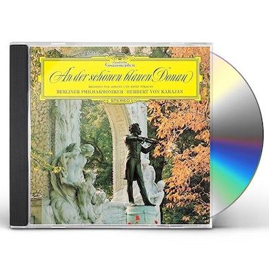 Herbert Von Karajan  AN DER SCHONEN BLAUEN DONAU CD