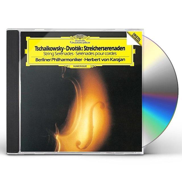 Herbert Von Karajan TCHAIKOVSKY & DVORAK: STRING SERENADE CD