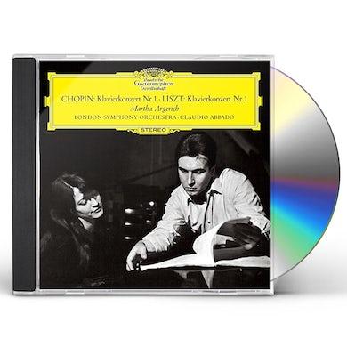 Martha Argerich CHOPIN & LISZT: PIANO CONCERTO 1 CD
