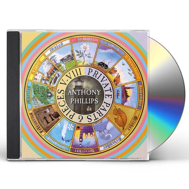 Anthony Phillips PRIVATE PARTS & PIECES V-VIII CD