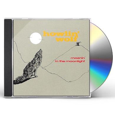 Howlin' Wolf MOANIN IN THE MOONLIGHT CD