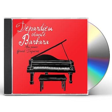 Gerard Depardieu DEPARDIEU CHANTE BARBARA CD