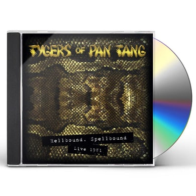 Tygers Of Pan Tang HELLBOUND SPELLBOUND '81 (GOLD DIGI) CD