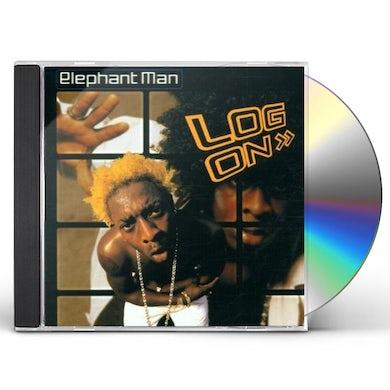 Elephant Man LOG ON CD