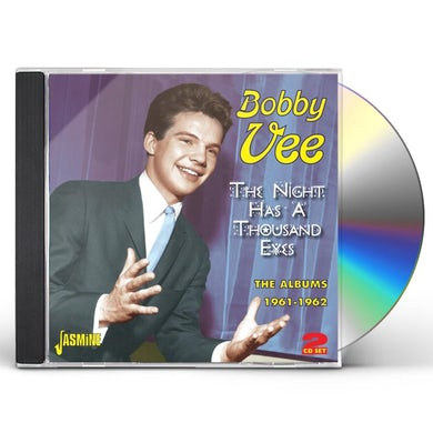 Bobby Vee NIGHT HAS A THOUSAND EYES: ALBUMS 1961-62 CD