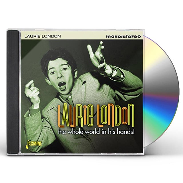 Laurie London WHOLE WORLD IN HIS HAND CD