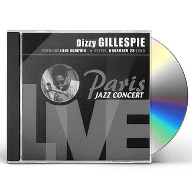 Dizzy Gillespie PARIS JAZZ CONCERT LIVE CD