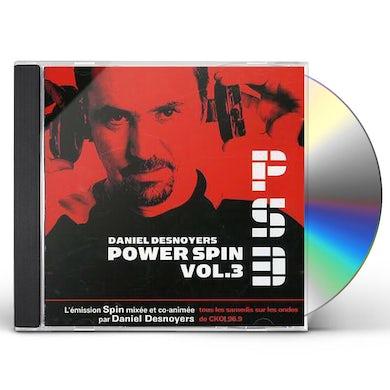 Daniel Desnoyers POWER SPIN 3 CD