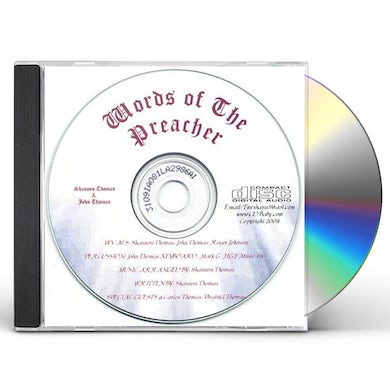 Shannon Thomas WORDS OF THE PREACHER CD