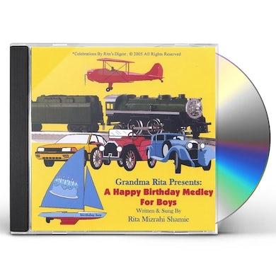 Rita Mizrahi Shamie GRANDMA RITA PRESENTS A HAPPY BIRTHDAY MEDLEY FOR CD