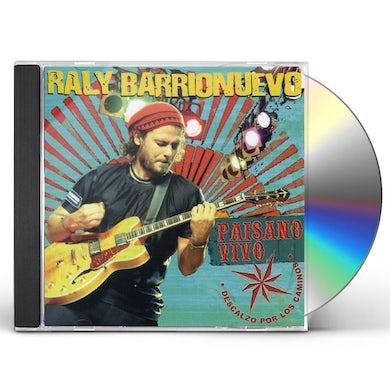 Raly Barrionuevo PAISANO VIVO CD