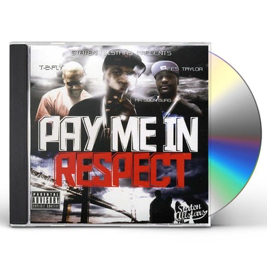 Fes Taylor PAY ME IN RESPECT CD