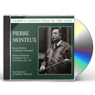 FAMOUS CONDUCTORS OF THE PAST: PIERRE MONTEUX CD
