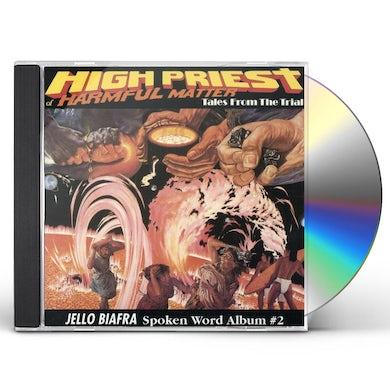 Jello Biafra HIGH PRIEST OF HARMFUL MATTER CD