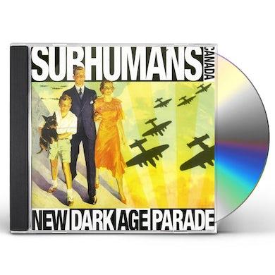 Subhumans NEW DARK AGE PARADE CD